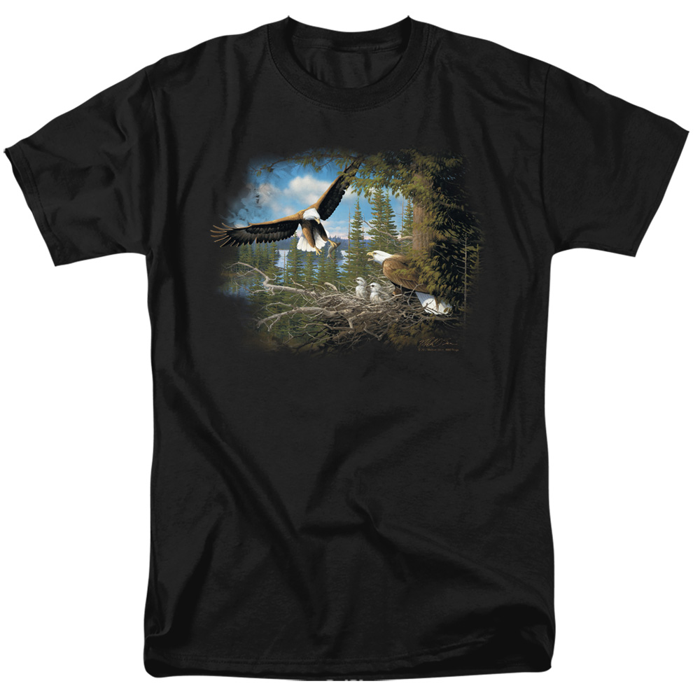 Wild Wings Spring Bald Eagles T-Shirt