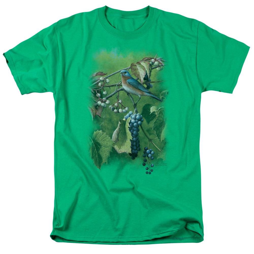 Wild Wings Summertime Eastern Bluebird T-Shirt
