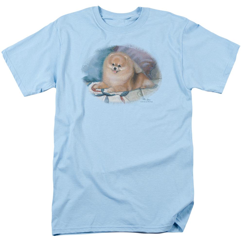 Wild Wings Pomeranian Portrait T-Shirt