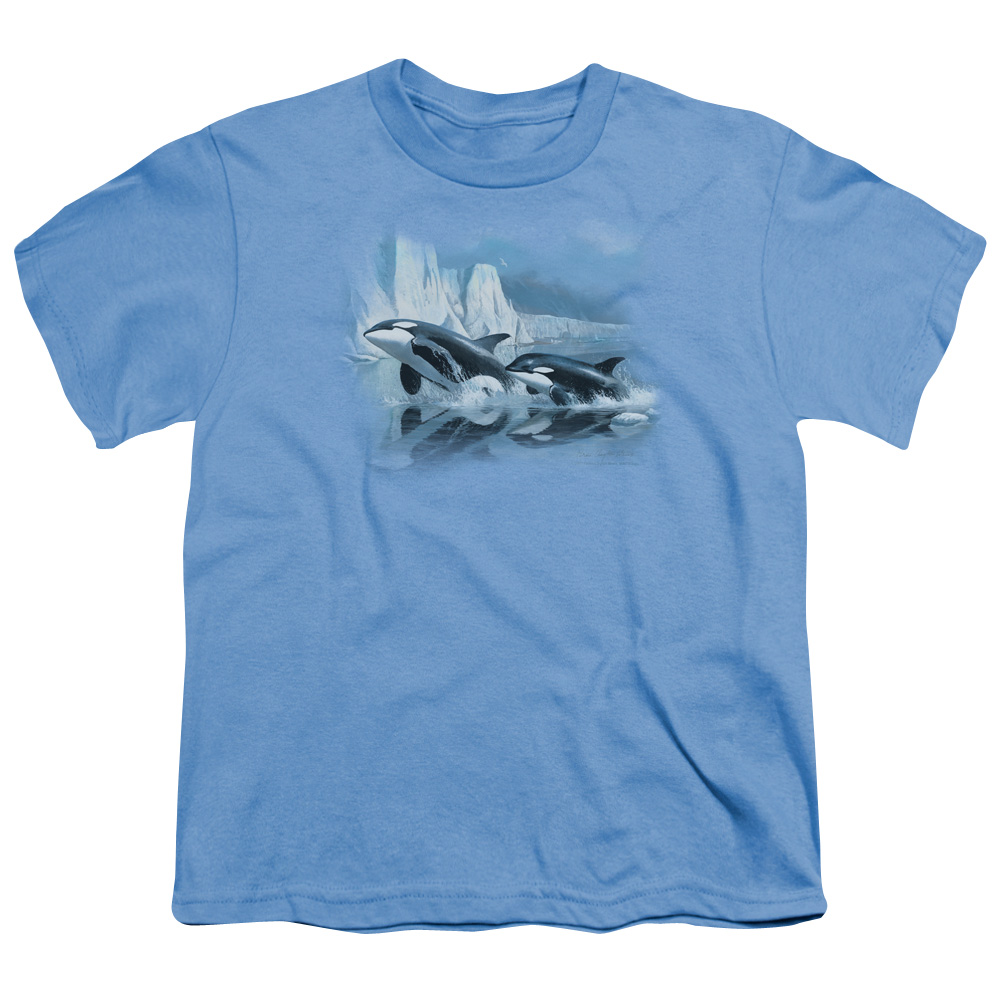 Wild Wings Glaciers Edge Orcas Kids T-Shirt