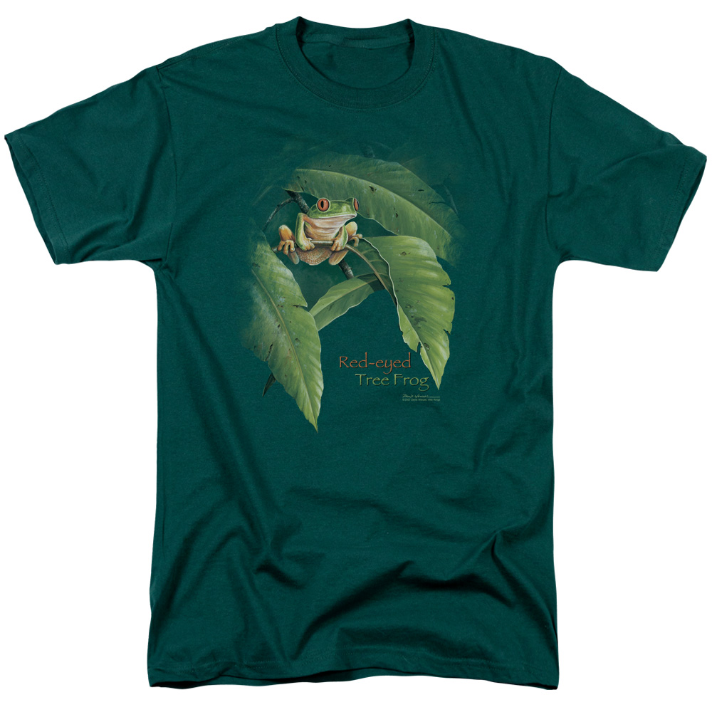 Wild Wings Red Eyed Tree Frog T-Shirt