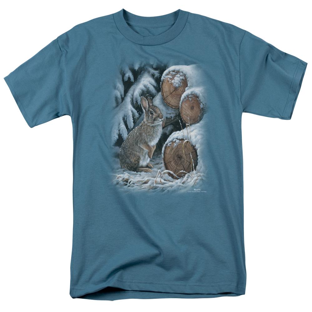 Wild Wings Wood Pile Rabbit T-Shirt