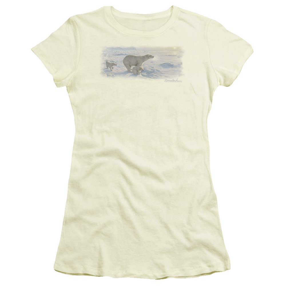 Wild Wings On The Edge Junior Fit T Shirt