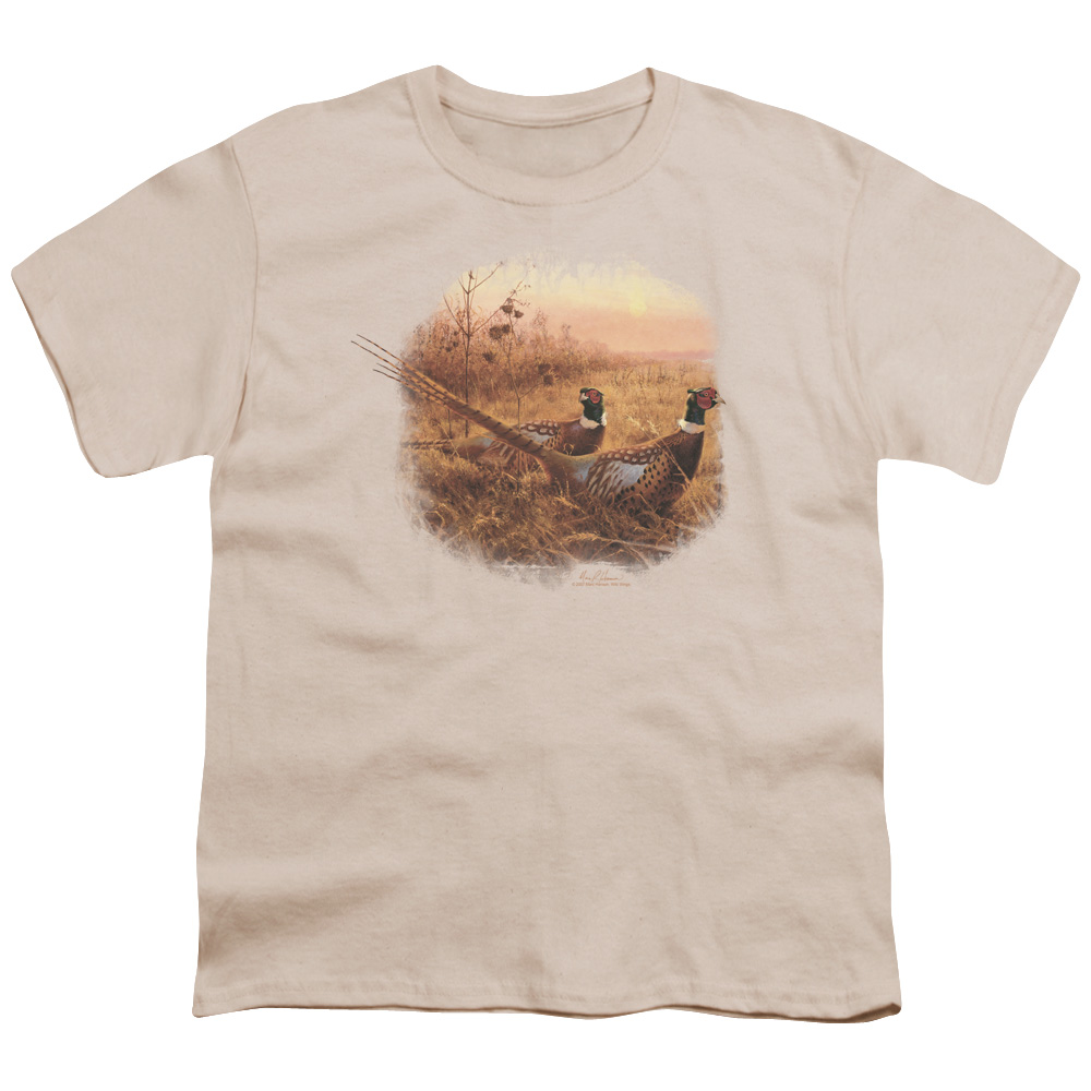 Wild Wings First Alert Pheasants Kids T-Shirt
