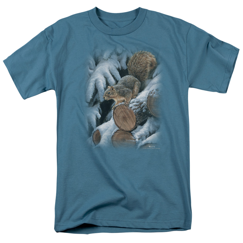 Wild Wings Wood Pile Squirrel T-Shirt
