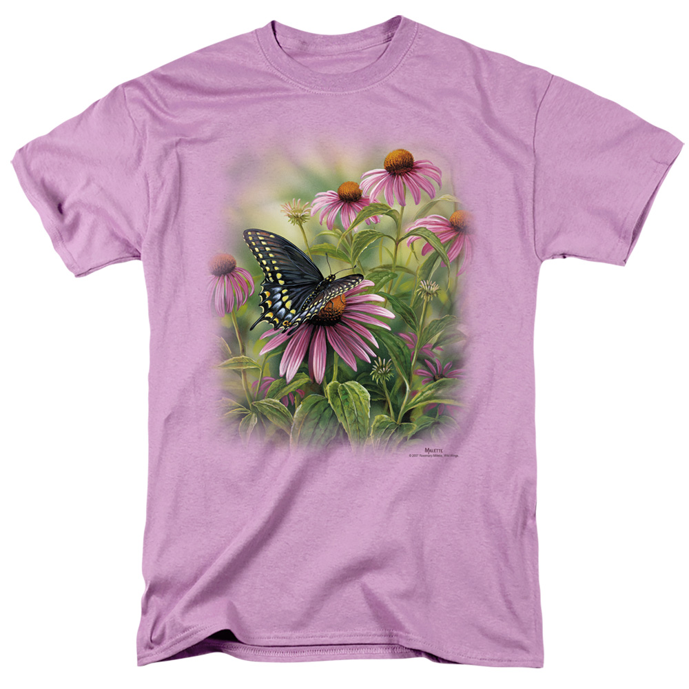 Wild Wings Black Swallowtail Butterfly T-Shirt