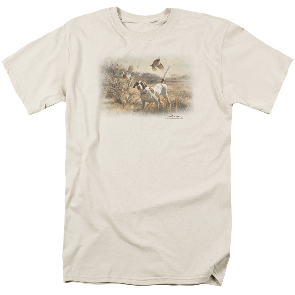 Wild Wings Pointer and Bobwhite Quail T-Shirt