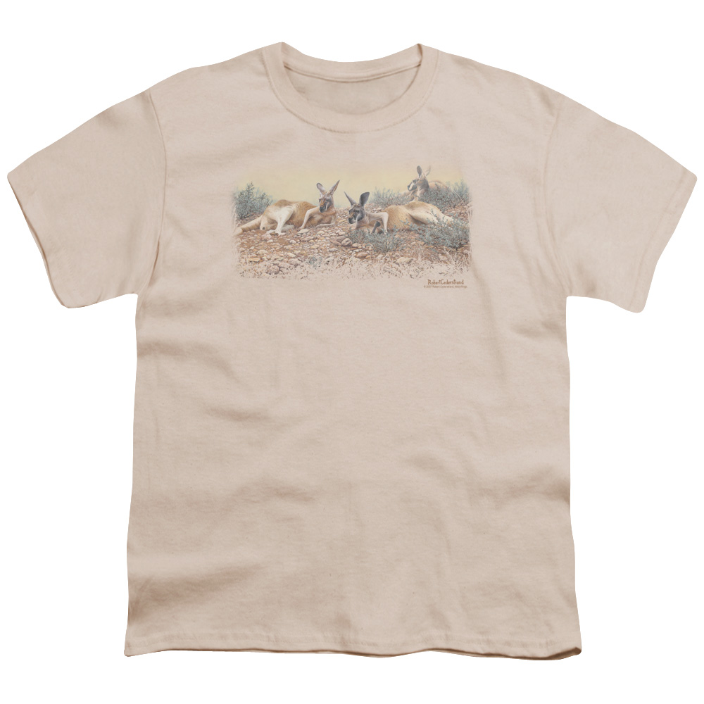 Wild Wings Laid Back In The Outback Kids T-Shirt