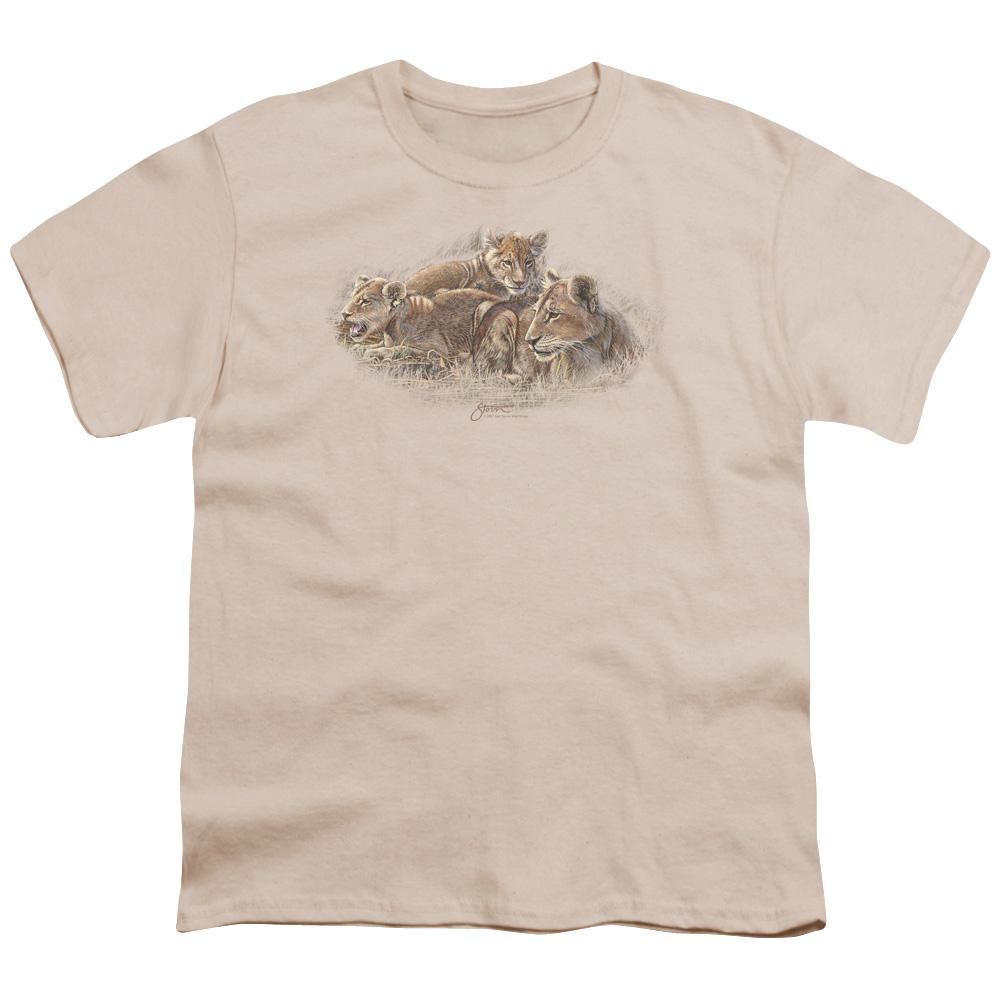 Wild Wings Lion Cubs Kids T-Shirt