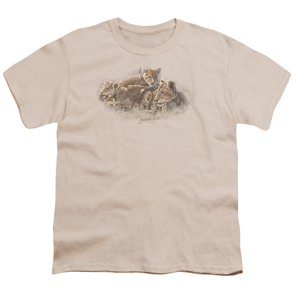 Wild Wings Lion Cubs Kids T-Shirt