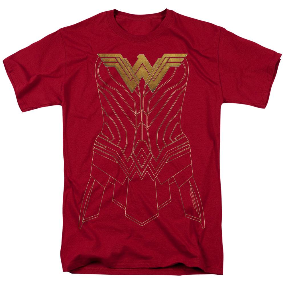 Wonder Woman Movie - Armor Outline T-Shirt