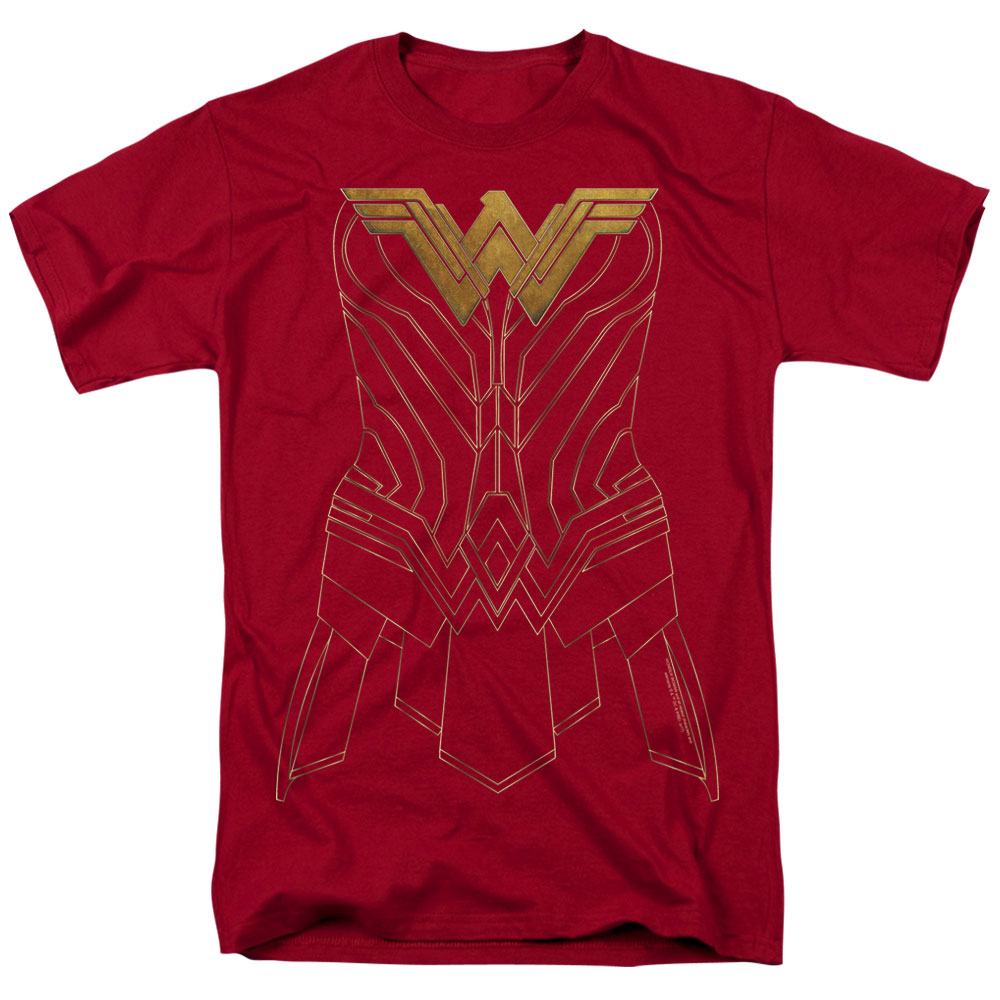 Wonder Woman Movie - Armor Outline