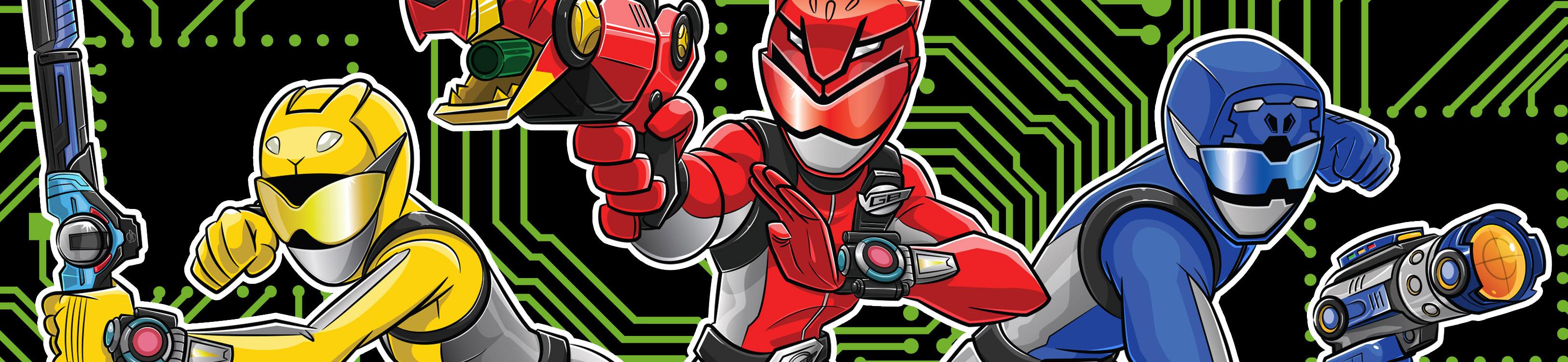 Power Rangers Beast Morphers   Logovision